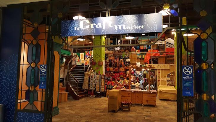 Mercado de Artesanato - Port Louis - Ilhas Maurícias © Viaje Comigo