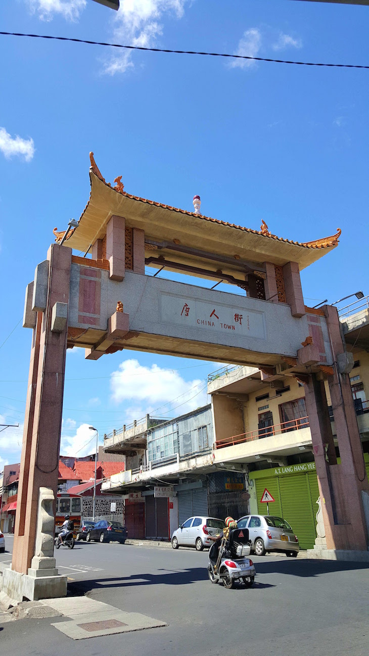 Chinatown em Port Louis - Ilhas Maurícias © Viaje Comigo