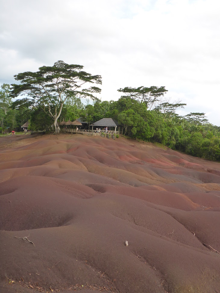 Terra com 7 cores - 7 Coloured Earth - Chamarel - Mauricias © Viaje Comigo