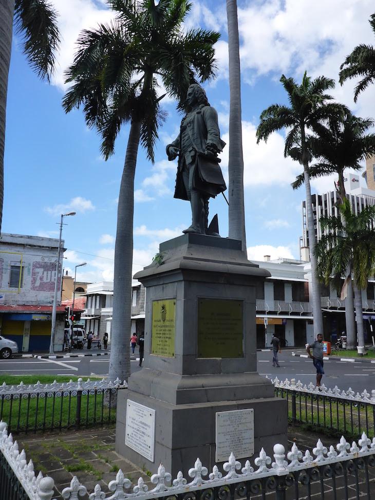 Place d'Armes - Port Louis - Ilhas Maurícias © Viaje Comigo