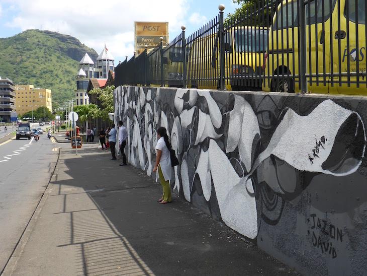 Arte Urbana em Port Louis - Ilhas Maurícias © Viaje Comigo