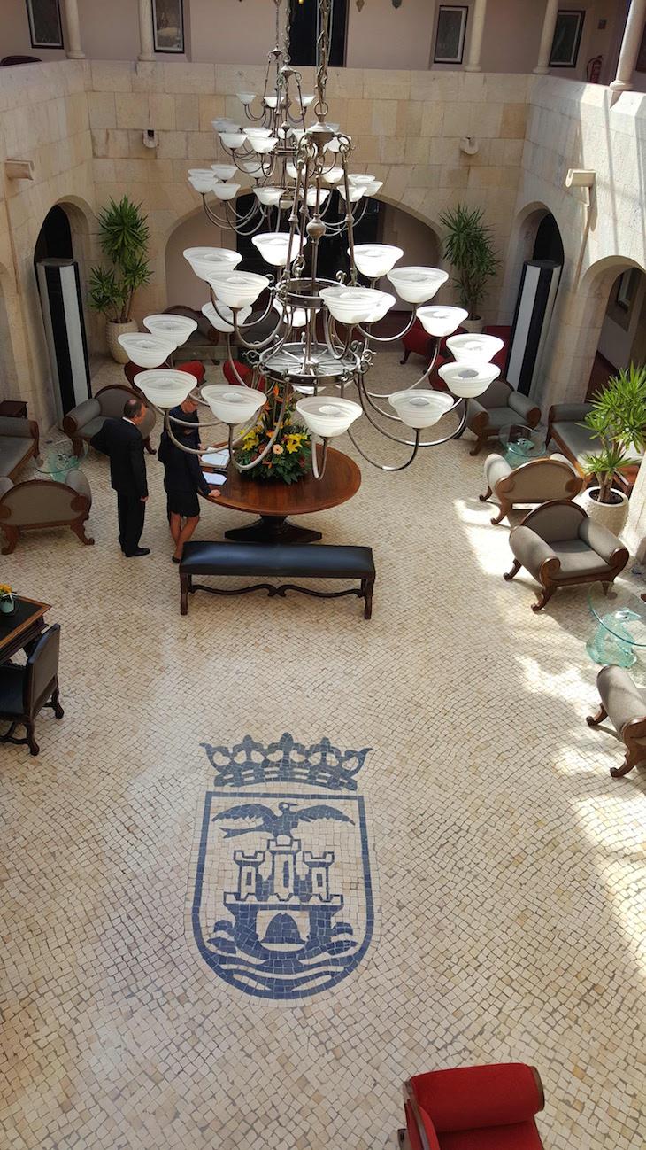 Hall da Fortaleza do Guincho © Viaje Comigo