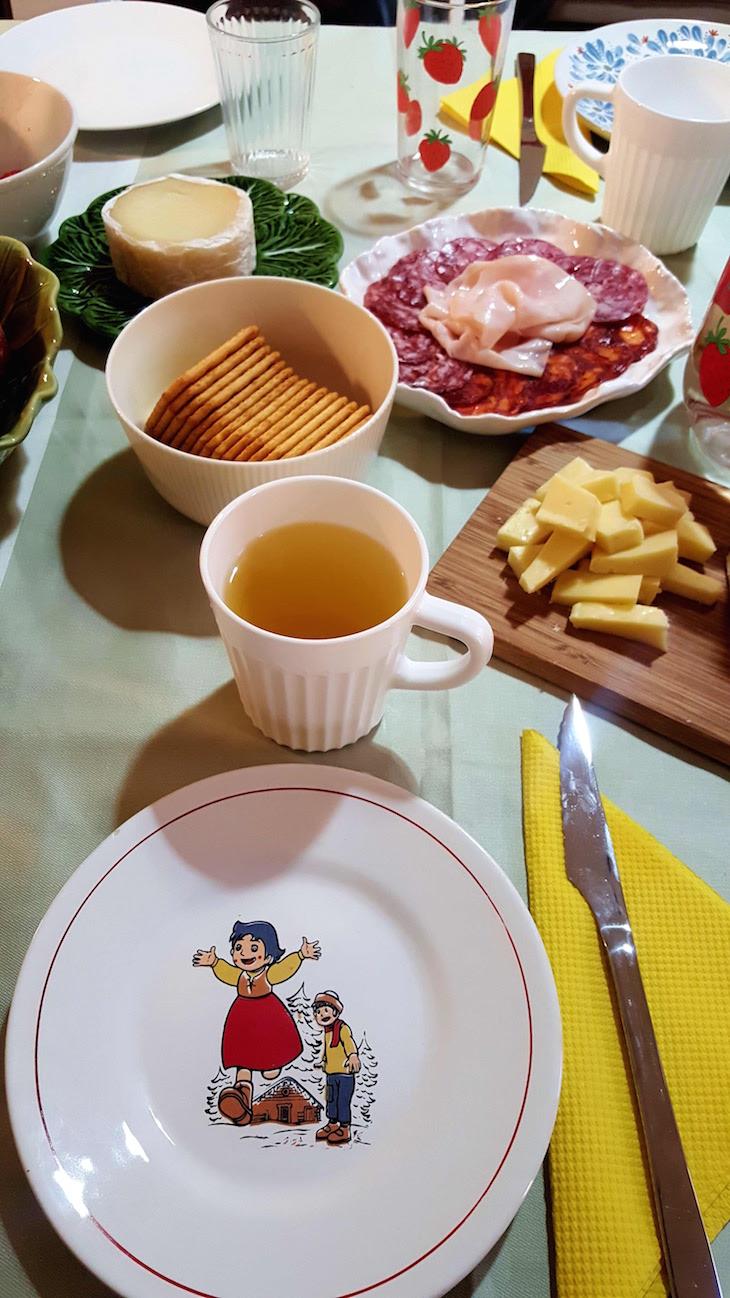 Pequeno-almoço no Hostel Casa da Tocha © Viaje Comigo