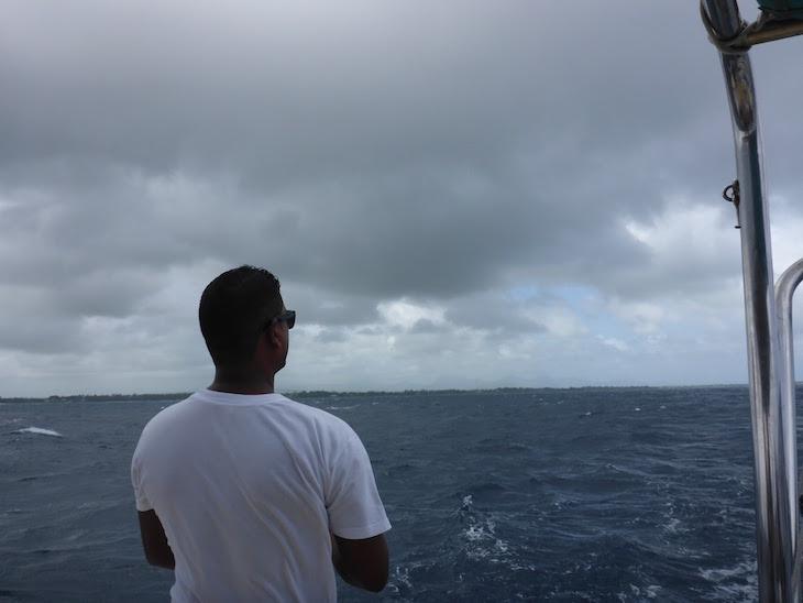 Mau tempo no passeio até à Ilha Gabriel, Ilhas Maurícias © Viaje Comigo