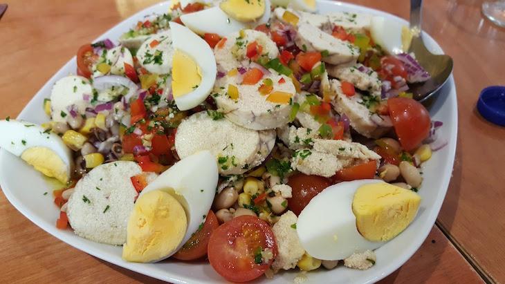 Salada de Ovas na Casa da Tocha © Viaje Comigo