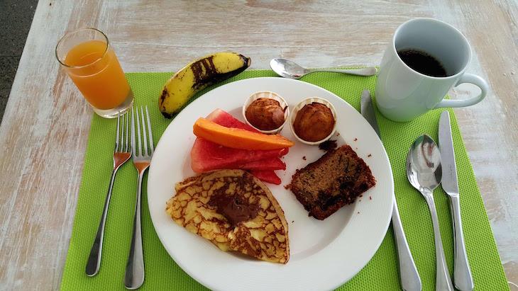 Pequeno-almoço no Long Beach Golf & Spa Resort - Ilhas Maurícias © Viaje Comigo