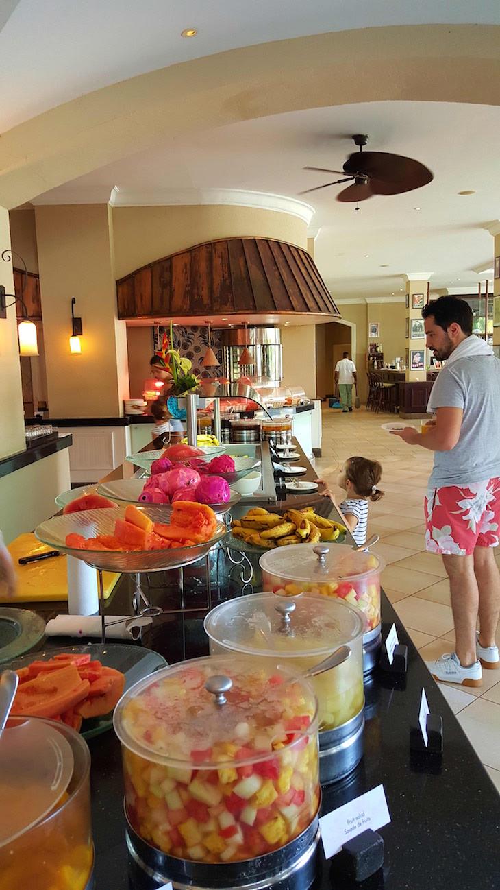 Pequeno-almoço do Sugar Beach Golf & Spa Resort, Ilhas Maurícias © Viaje Comigo