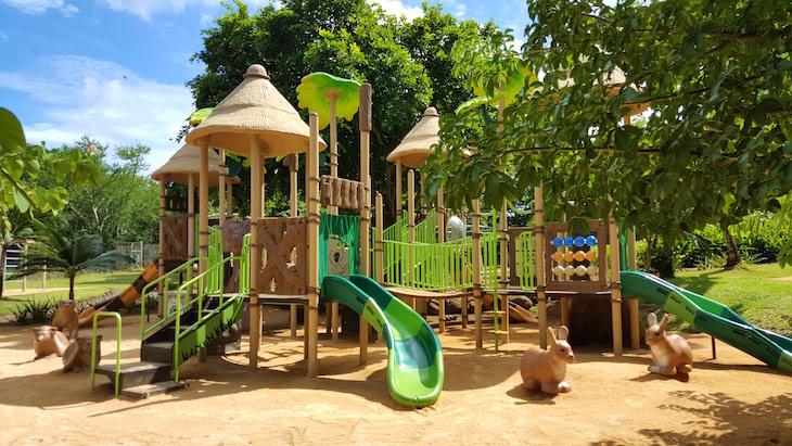 Parque infantil - Casela World of Adventures - Ilhas Maurícias © Viaje Comigo