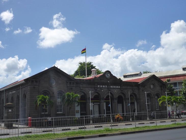 Posto de correios - Port Louis - Ilhas Maurícias © Viaje Comigo