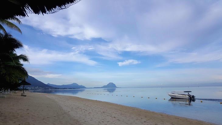 Praia do Sugar Beach Golf & Spa Resort, Ilhas Maurícias © Viaje Comigo