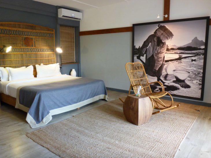 Quarto do Hotel Ravenala Attitude - Ilhas Maurícias © Viaje Comigo