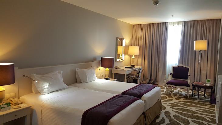 Quarto novo do Holiday Inn Porto Gaia @ Viaje Comigo