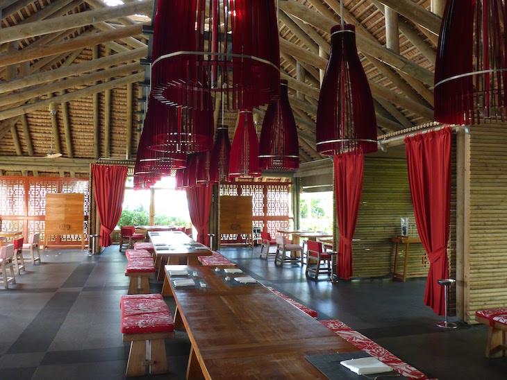 Restaurante do Long Beach Golf & Spa Resort - Ilhas Maurícias © Viaje Comigo