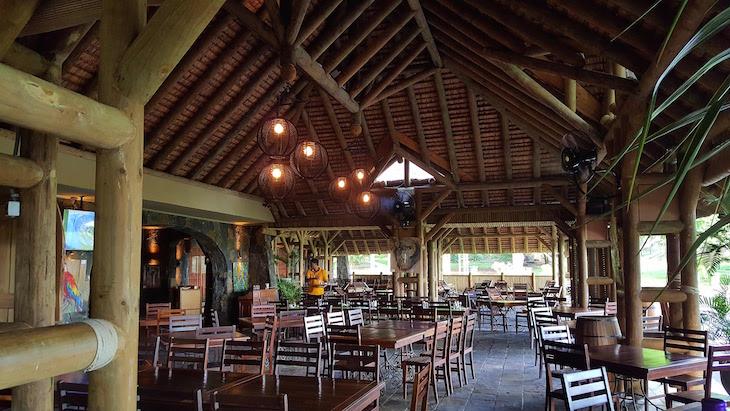 Restaurante Casela World of Adventures - Ilhas Maurícias © Viaje Comigo
