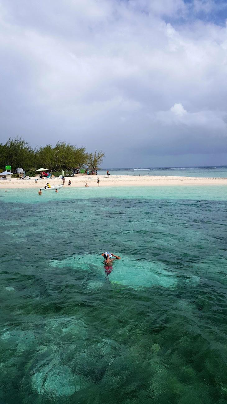 Snorkeling Ilha Gabriel - Ilha Mauricia © Viaje Comigo