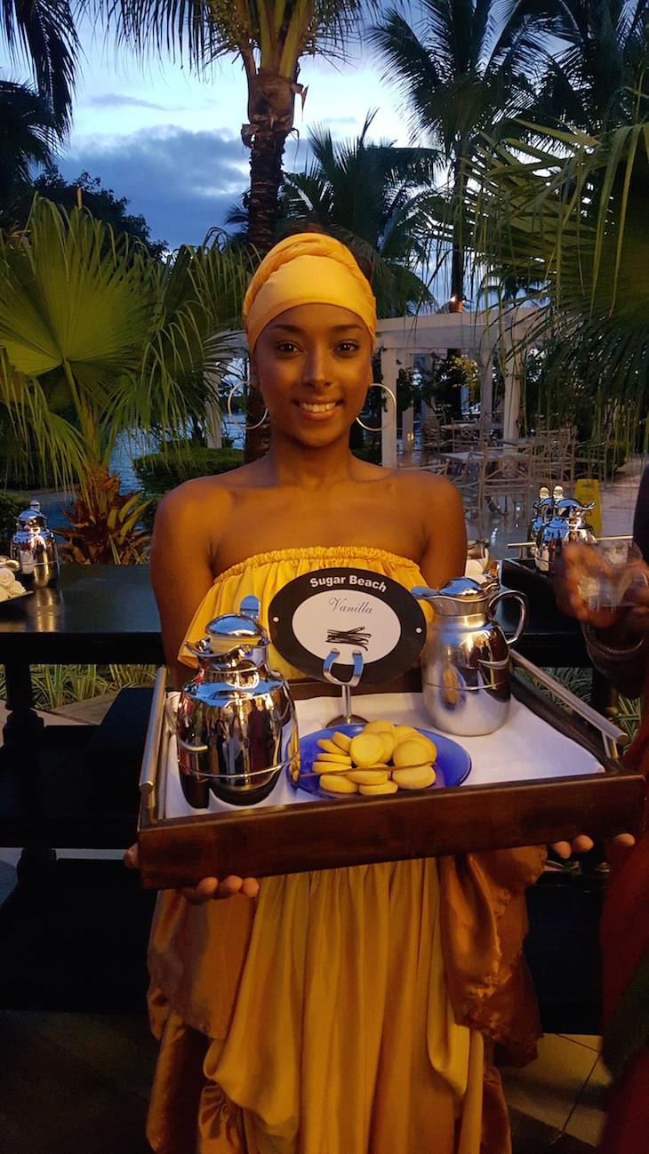 Receção no Sugar Beach Golf & Spa Resort, Ilhas Maurícias © Viaje Comigo