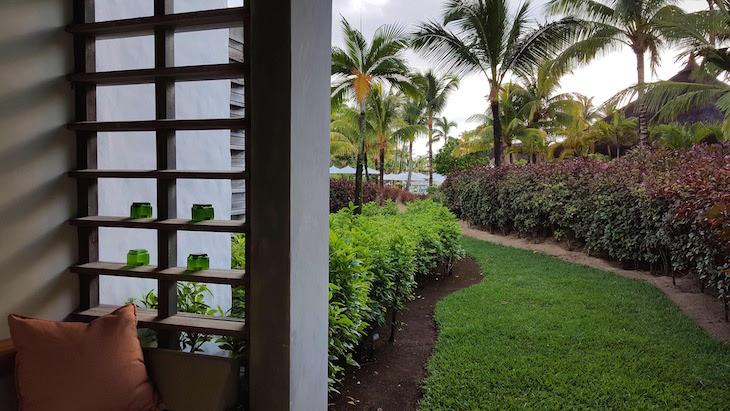 Terraço do Long Beach Golf & Spa Resort - Ilhas Maurícias © Viaje Comigo