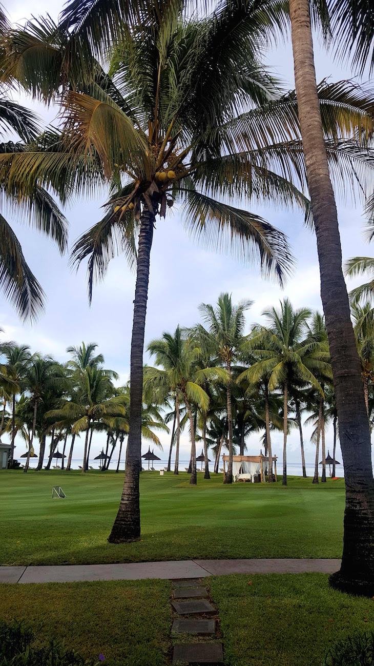 Vista do meu quarto - Sugar Beach Golf & Spa Resort, Ilhas Maurícias © Viaje Comigo
