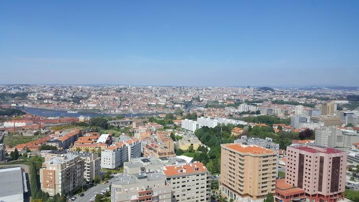 Vista do último andar (22º) do Holiday Inn Porto Gaia @ Viaje Comigo