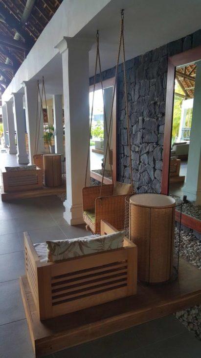 Baloiços no Hotel Ravenala Attitude - Ilhas Maurícias © Viaje Comigo