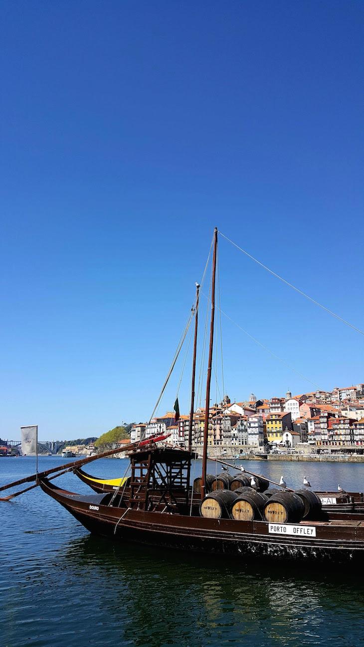Barcos rabelos - Porto, Portugal © Viaje Comigo