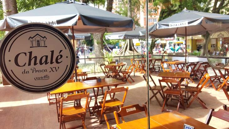 Chalé da Praça XV - Porto Alegre - Brasil © Viaje Comigo