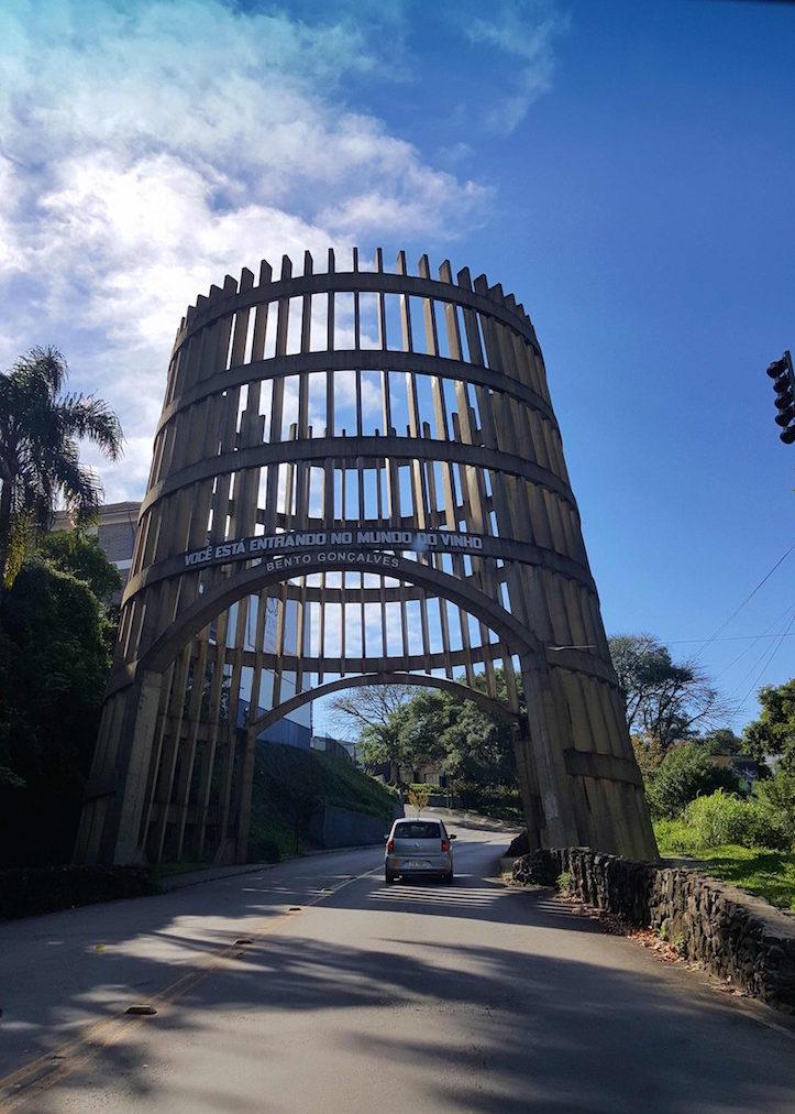Entrada em Bento Gonçalves - Rio Grande do Sul - Brasil © Viaje Comigo
