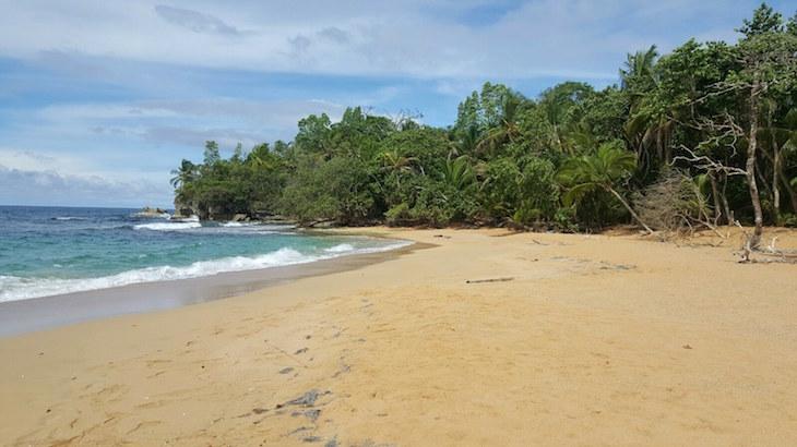O paraíso na Praia Bluff, Bocas del Toro, Panamá © Viaje Comigo