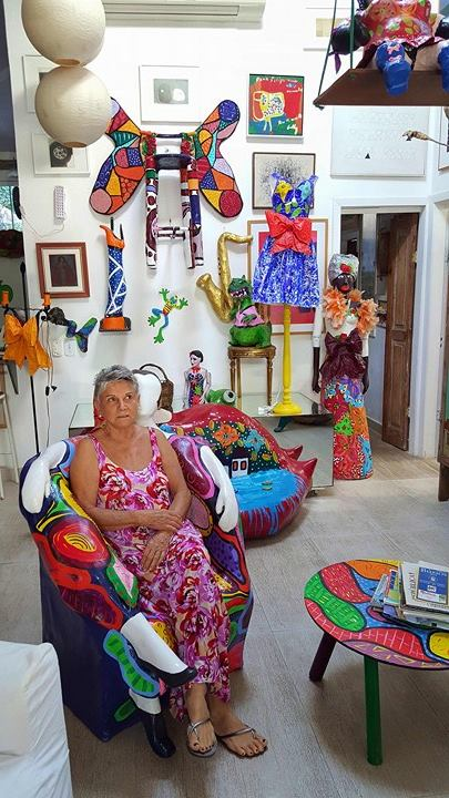 Os gigantones de Ivone R em Búzios, Brasil © Viaje Comigo