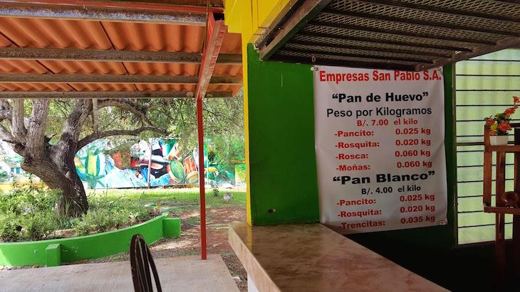 Panaderia San Pablo - Pan de La Arena - Chitré - Panamá © Viaje Comigo