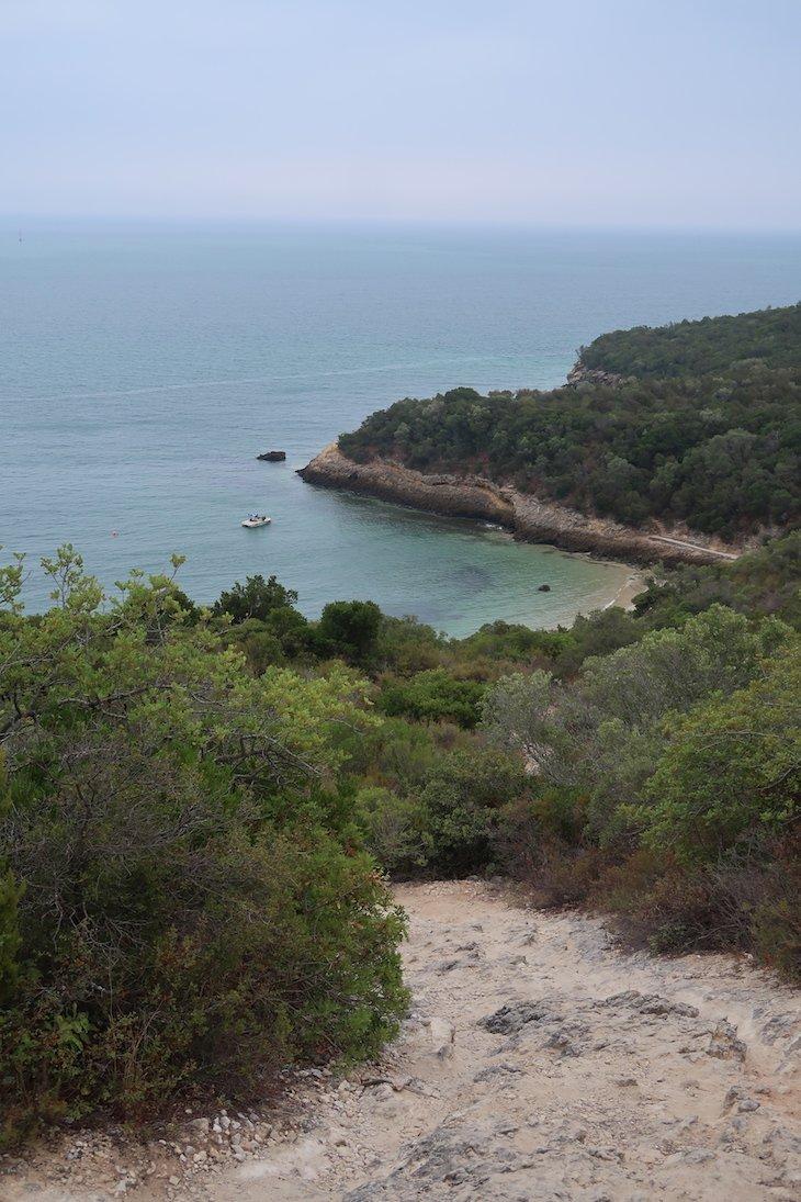 Caminho para a Praia de Galapinhos Arrábida -Portugal © Viaje Comigo