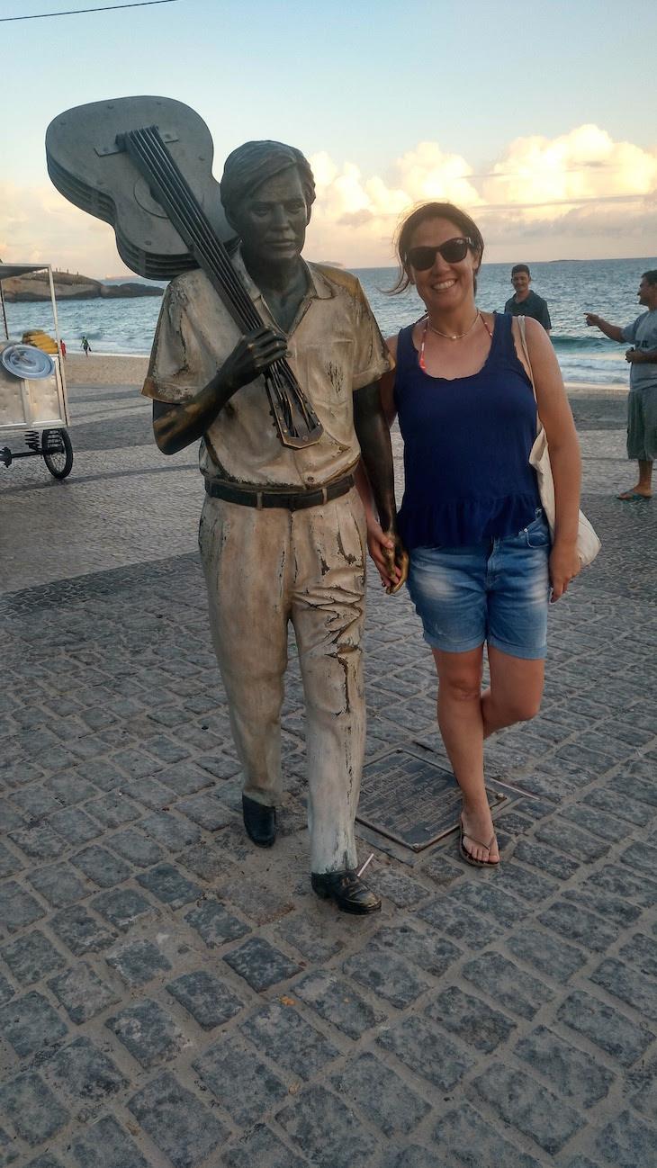 Eu e Tom Jobim Rio de Janeiro © Viaje Comigo
