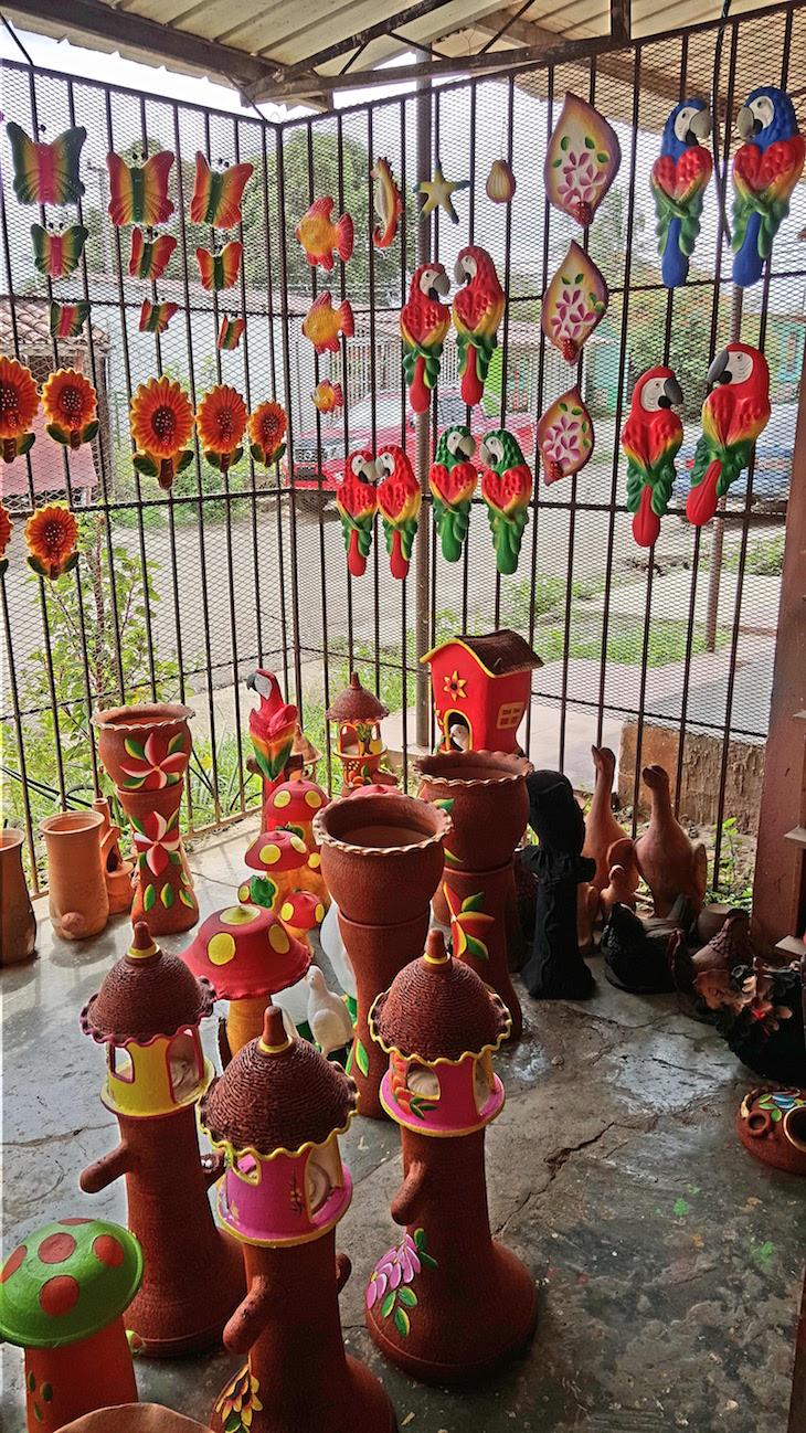Peças pintadas  - La Arena - Chitré - Panamá © Viaje Comigo