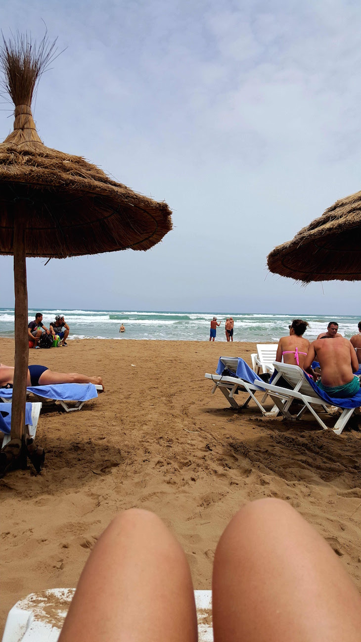 Praia de Saidia - Marrocos © Viaje Comigo