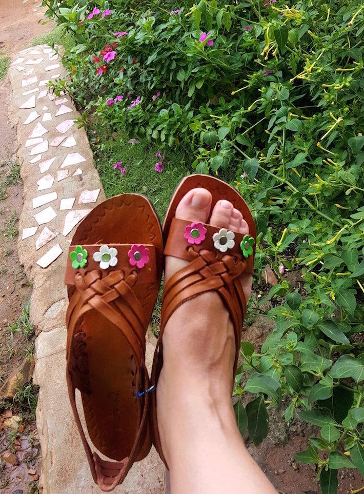 Sandálias Qtarras - Chitré - Panamá © Viaje Comigo