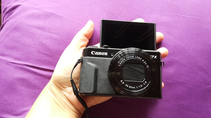 Canon PowerShot G7 X Mark II @ Viaje Comigo