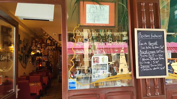 Creperie Bretonne -Orleães - Franca © Viaje Comigo