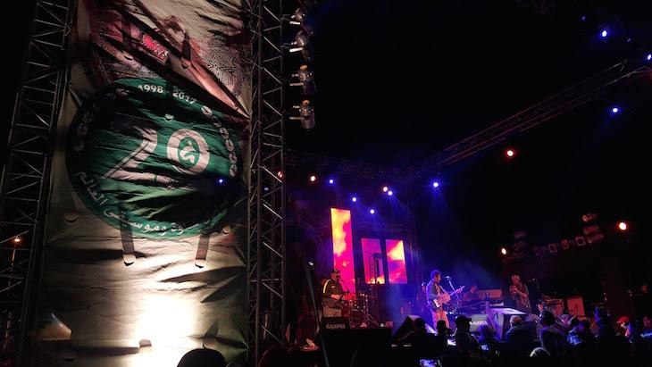 Gnawa Difusion em palco Festival Gnaoua 2017 - Essaouira © Viaje Comigo