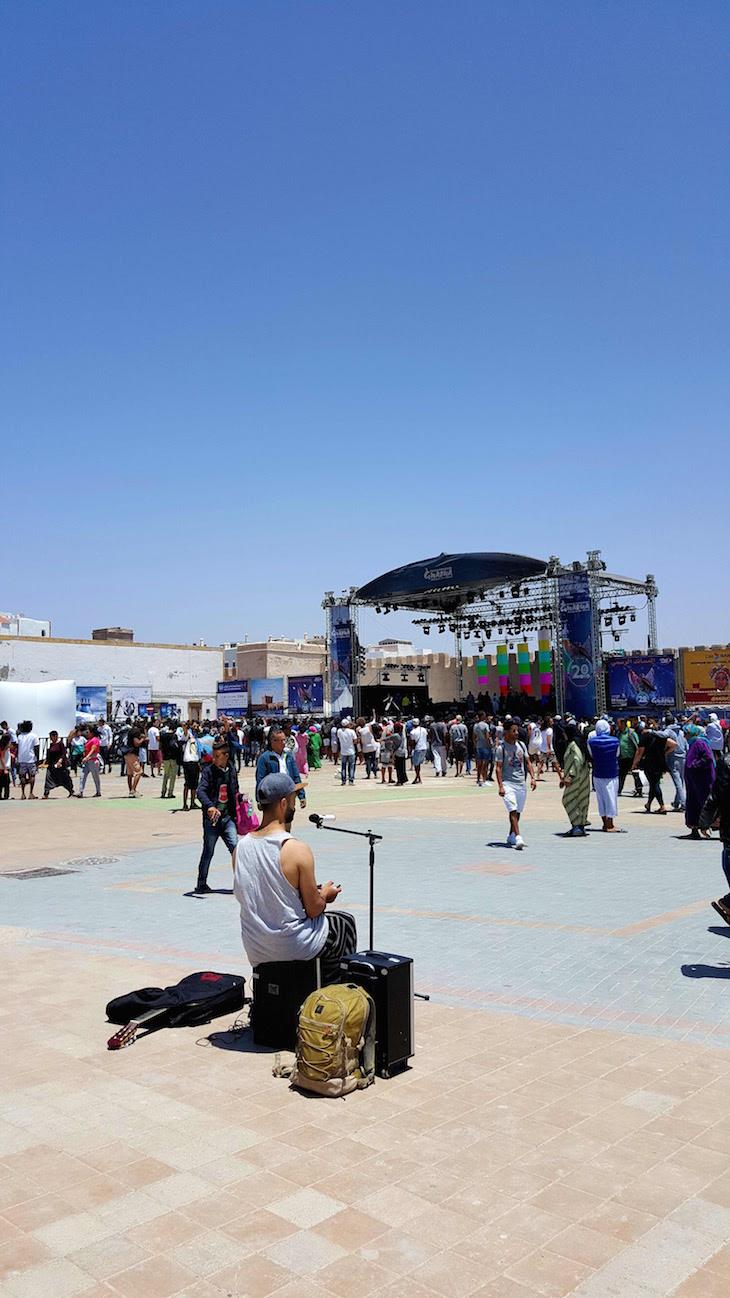 Músicos de rua - Festival Gnaoua 2017 - Essaouira © Viaje Comigo