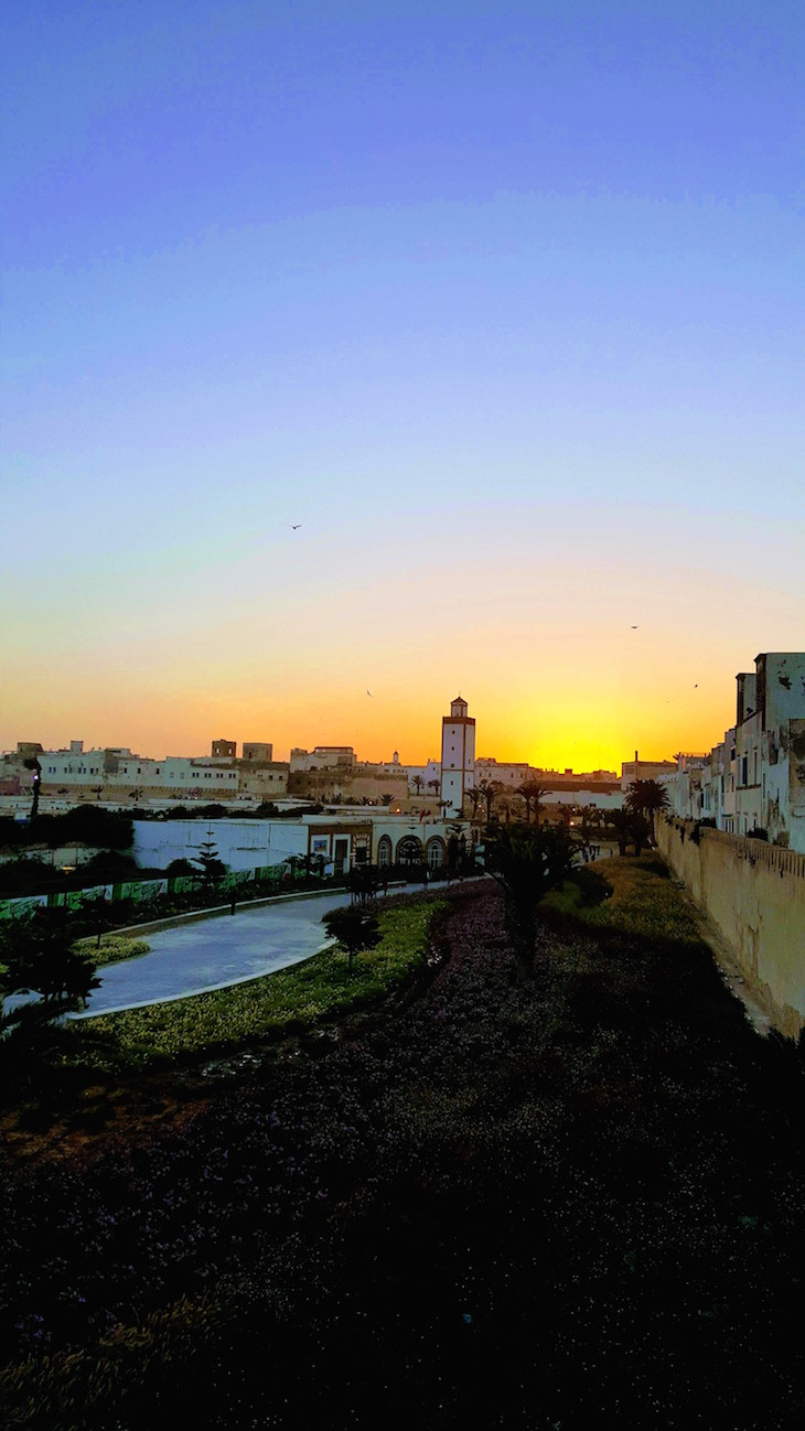 Pôr do sol - Festival Gnaoua 2017 - Essaouira © Viaje Comigo