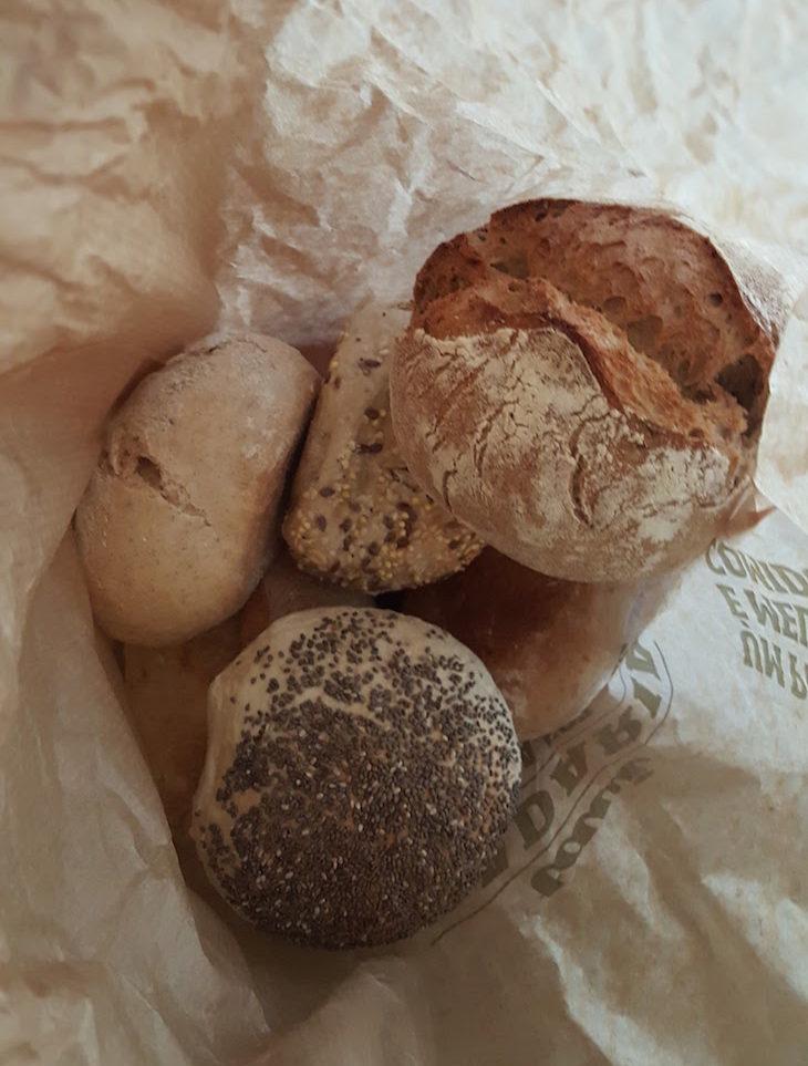 Saco de pão Tavi - Padaria da Foz - Porto © Viaje Comigo