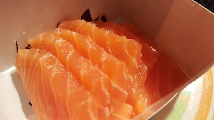 Box take Away da Sushi Store, Avenida da Boavista, Porto © Viaje Comigo