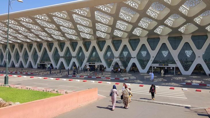 Aeroporto de Marrakech-Menara 2017 - Marraquexe -Marrocos © Viaje Comigo