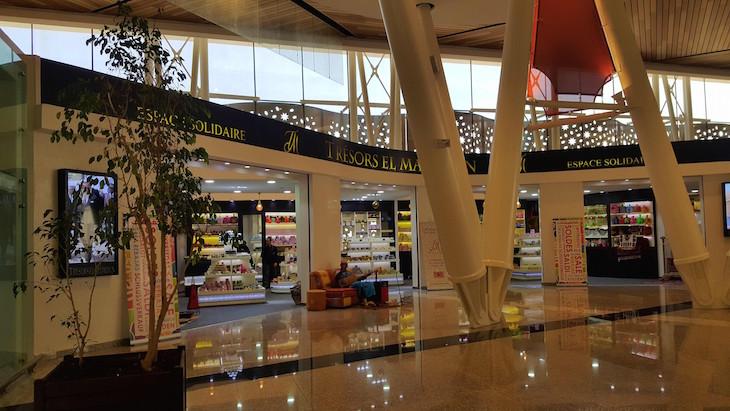 Novo terminal Aeroporto de Marrakech-Menara 2017 - Marraquexe -Marrocos © Viaje Comigo