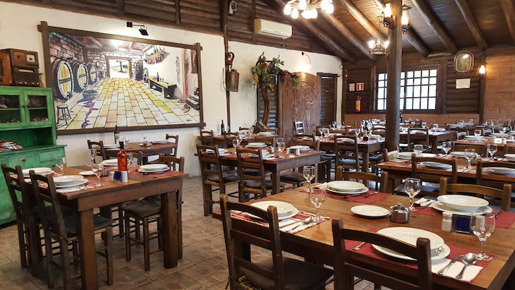 Restaurante Sborneas's - Bento Gonçalves - Rio Grande do Sul - Brasil © Viaje Comigo