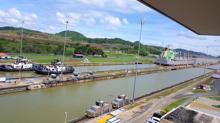 Central de Visitantes em Miraflores - Canal do Panamá - Panamá © Viaje Comigo