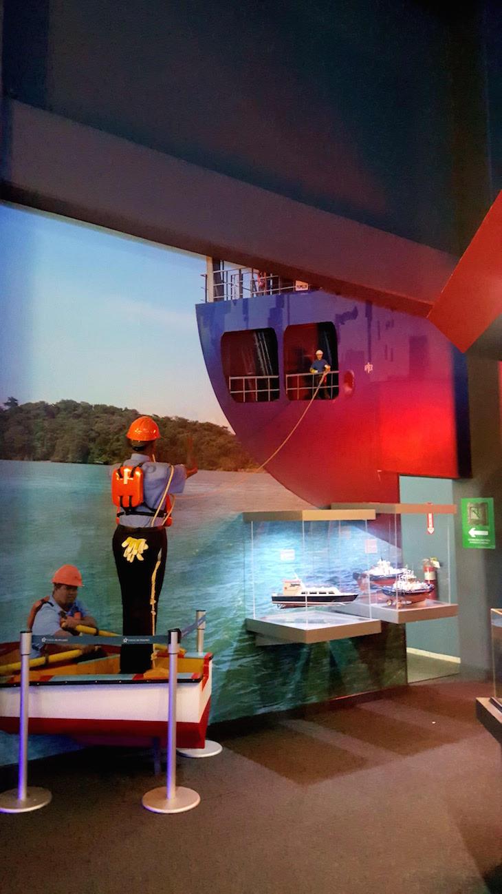 Museu do Centro de Visitantes em Miraflores - Canal do Panamá - Panamá © Viaje Comigo