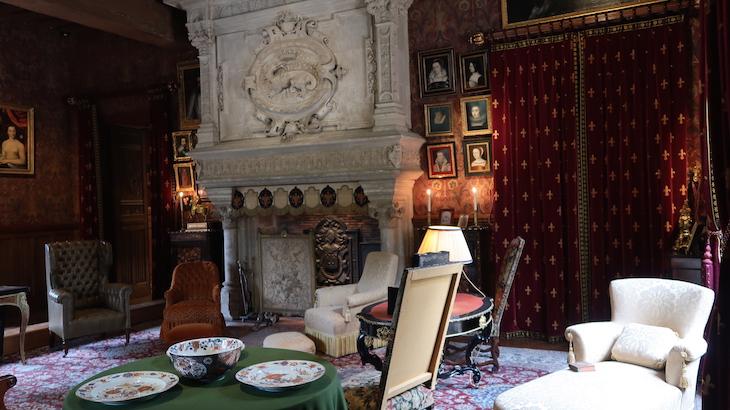 No Château d'Azay-le-Rideau, Vale do Loire, França © Viaje Comigo