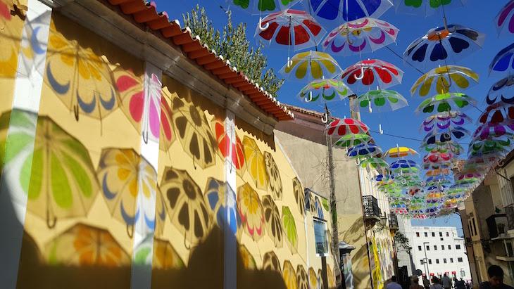Umbrella Sky Project - Águeda - Portugal © Viaje Comigo