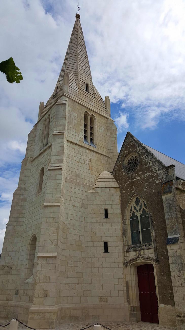 Église Saint Hilaire - Lémére - França © Viaje Comigo